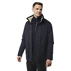 Craghoppers - Dark navy Walden waterproof hooded jacket