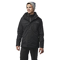 Craghoppers - Black Wheeler 3 in 1 waterproof jacket