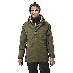Craghoppers - Dark moss Peers waterproof insulating jacket