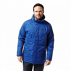 Craghoppers - Blue 'Peers' insulating waterproof jacket