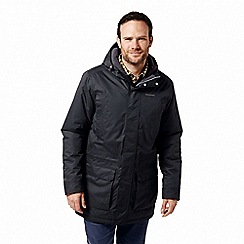 Craghoppers - Black 'Pelle' insulating waterproof jacket