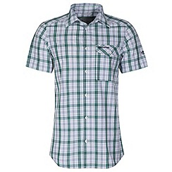 Craghoppers - Alpine green landon short-sleeved summer shirt