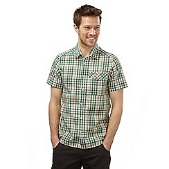 Craghoppers - Leaf green combo lomand short sleeved check shirt