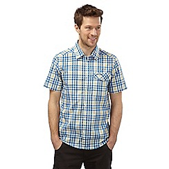 Craghoppers - China blue combo lomand short sleeved check shirt