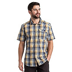 Craghoppers - Dusk blue combo newman short sleeved shirt