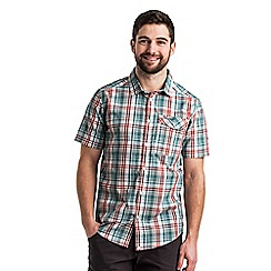 Craghoppers - Lake green combo newman short sleeved shirt