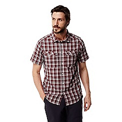 Craghoppers - Carmine combo Wensley checked short sleeved shirt