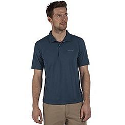 Craghoppers - Pool blue carlton polo shirt