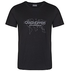 Craghoppers - Black wisdom t-shirt