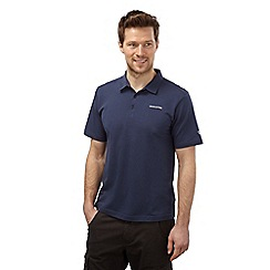 Craghoppers - Dusk blue creston short sleeved polo
