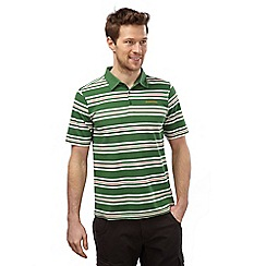 Craghoppers - Leaf green combo creston short sleeved polo