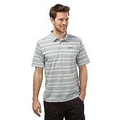 Craghoppers - Light grey combo creston short sleeved polo