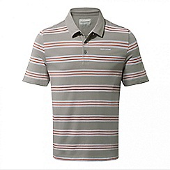 Craghoppers - Quarry grey combo Crickton short sleeved polo shirt