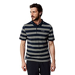 Craghoppers - Night blue combo Crickton short sleeved polo shirt