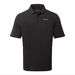 Craghoppers - Black pepper Crickton short sleeved polo shirt