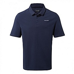 Craghoppers - Night blue Crickton short sleeved polo shirt