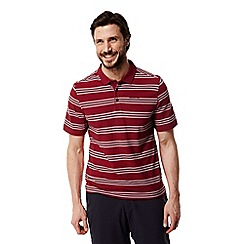 Craghoppers - Maple red combo Crickton short sleeved polo shirt