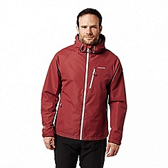 Craghoppers - Red 'Fenton' waterproof shell jacket