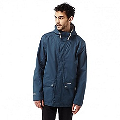 Craghoppers - Vintage indigo gaston waterproof shell jacket