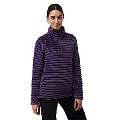 Craghoppers - Dark plum combo Appleby half zip fleece