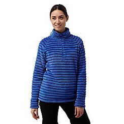 Craghoppers - Sport blue Appleby half zip fleece