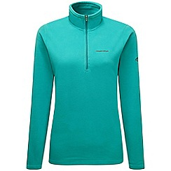Craghoppers - Bright turquoise Miska iii half zip fleece