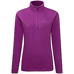 Craghoppers - Diva purple Miska iii half zip fleece