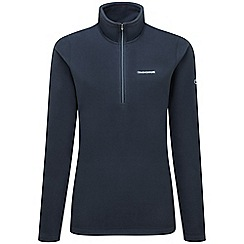 Craghoppers - Soft navy Miska iii half zip fleece