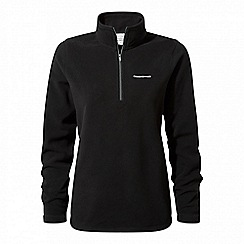 Craghoppers - Black Miska iii half zip fleece