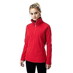 Craghoppers - Fiesta red Somerton half zip fleece