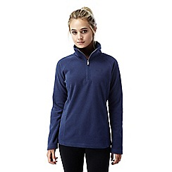 Craghoppers - Night blue Somerton half zip fleece