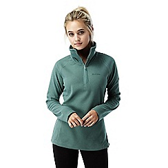 Craghoppers - Lake green Somerton half zip fleece