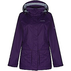 Craghoppers - Aubergine/peacock rae 3in1 jacket