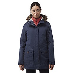 Craghoppers - Soft navy Elrose waterproof insulating jacket