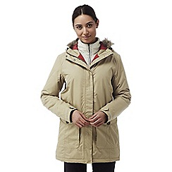Craghoppers - Camel Elrose waterproof insulating jacket