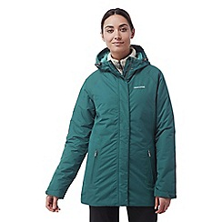 Craghoppers - Caspian green Kayla waterproof insulating jacket
