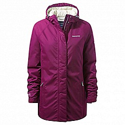 Craghoppers - Pink 'Kayla' insulating waterproof jacket