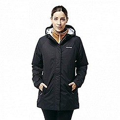 Craghoppers - Black 'Kayla' insulating waterproof jacket