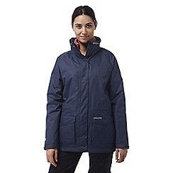 Craghoppers - Soft navy Ellie 3in1 waterproof jacket