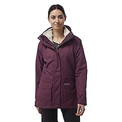 Craghoppers - Dark rioja red Ellie 3in1 waterproof jacket