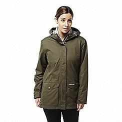 Craghoppers - Green 'Steena' 3 in 1 waterproof jacket