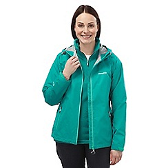 Craghoppers - Bright turquoise Alberta waterproof jacket