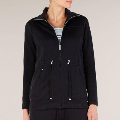 Dash Black interlock jacket - . -