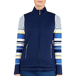 Dash - Navy Quilted Interlock Gilet