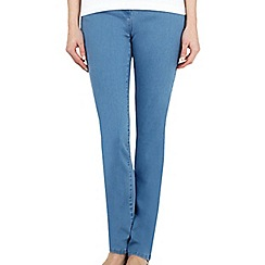 Dash - Light Wash Straight Leg Jean Petite