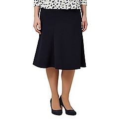 Eastex - Navy Fit & Flare Skirt