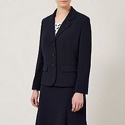 Eastex - Peplum Detail Crepe Jacket