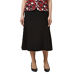 Eastex - Textured Fit & Flare Skirt