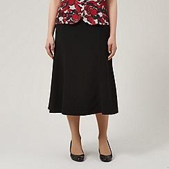 Eastex - Textured Fit & Flare Shorter Length Skirt