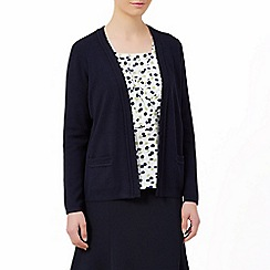 Eastex - Classic Navy Trim Cardigan